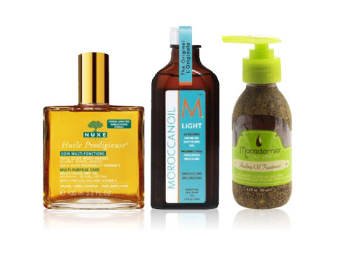 Nuxe MoroccanOil and Macadamia Oil