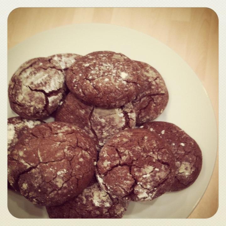 Julia's Crinkle Cookies