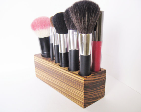 Kabuki Brush Holder Makeup Organizer