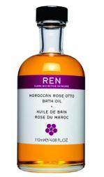 Ren Moroccan Oil Rose Otto Bath Oil