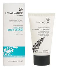 Living Nature Ultra Rich Body Cream