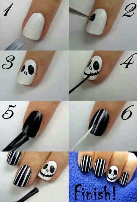 Beetlejuice nails