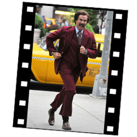 Ron Burgundy returns in Anchorman 2