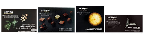 Heston's done it again with a yummy range of Christmas treats