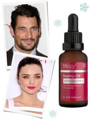 David Gandy and Miranda Kerr are big fans of rosehip oil