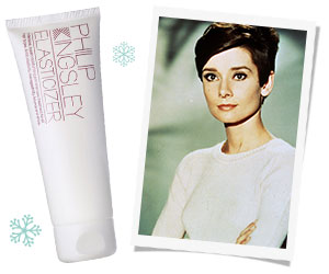 The ultimate icon - Audrey had Philip Kingsley's Elasticizer made just for her