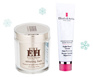 Timeless beauty heroes Elizabeth Arden 8 Hour Cream and Emma Hardie Moringa Cleansing Balm