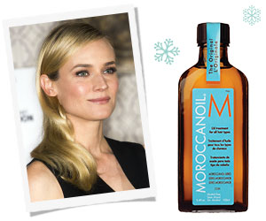 Diane Kruger is a big fan of MorrocanOil
