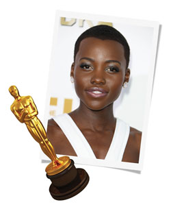Lupita Nyong'o - image courtesy of Rex Images