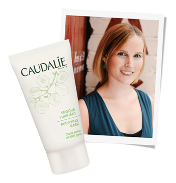 Caudalie's Purifying Mask is Anna's clear-skin secret weapon